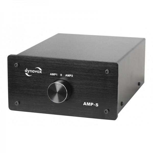 Dynavox Verstärker/Boxen-Umschalter schwarz Modell AMP-S