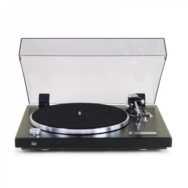 Dual CS 526 Schallplattenspieler Strukturlack Schwarz Made in Germany