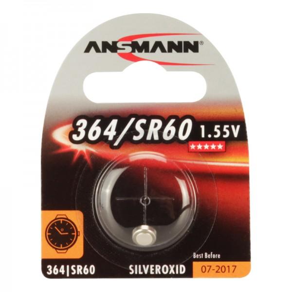 Ansmann Uhrenbatterie /SR60, 1er Blister