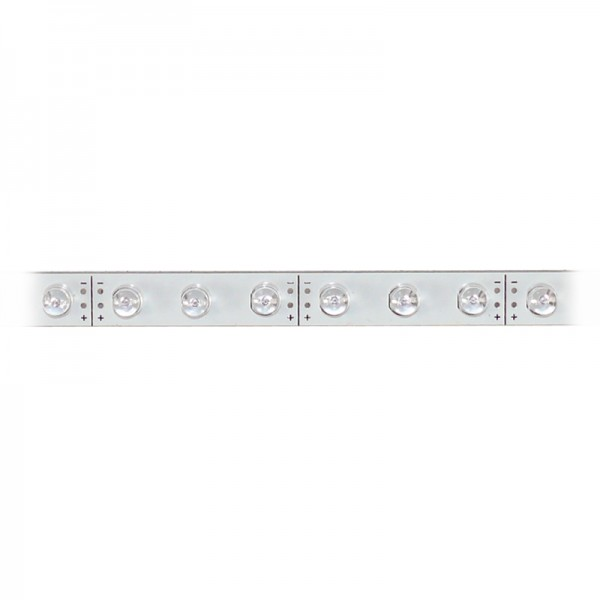 LED-Strip starr, 30 blaue LEDs BLANKO Länge 37,5 cm