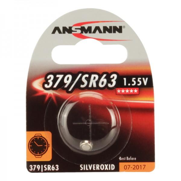 Ansmann Uhrenbatterie /SR63, 1er Blister