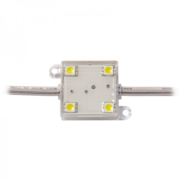 LED Modul 4 x Power SMD LEDs rot IP65