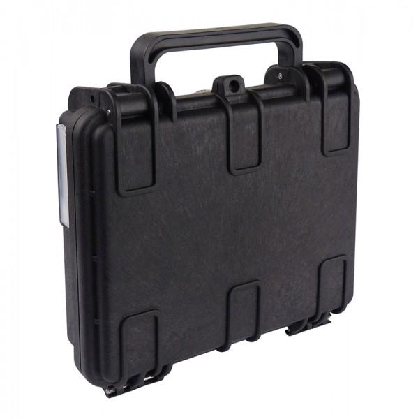 Gerätekoffer-Box Staub-/Wasserdicht und schlagfest - 190 x 175 x 60 mm BLANKO