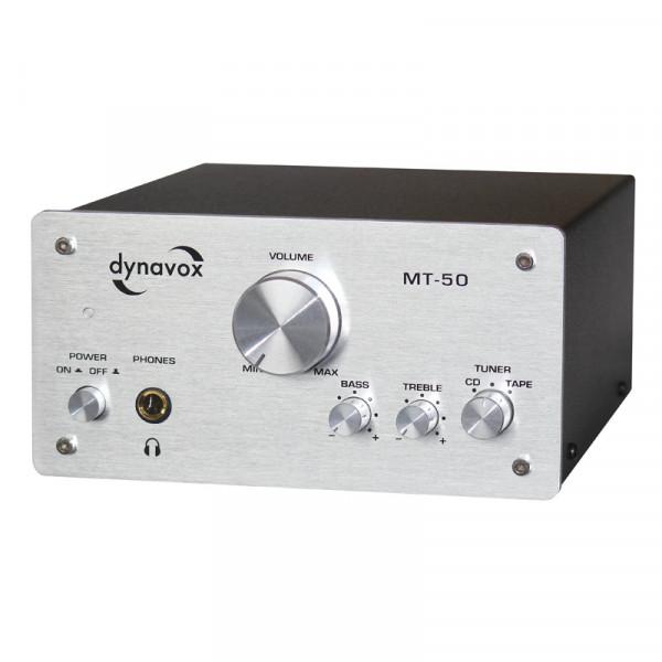 Dynavox MT-50 Miniverstärker silber