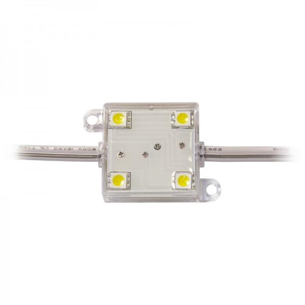 LED Modul 4 x Power SMD LEDs rot IP65 wasserdicht BLANKO