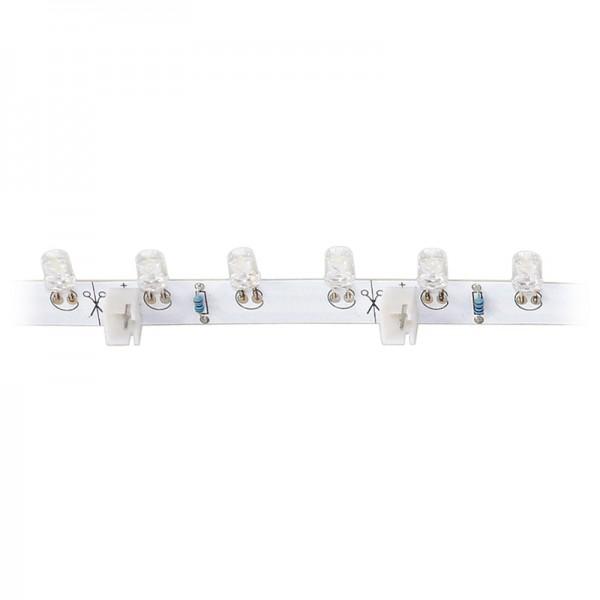 LED-Strip flexibel, 18 blaue LEDs BLANKO Länge 30 cm