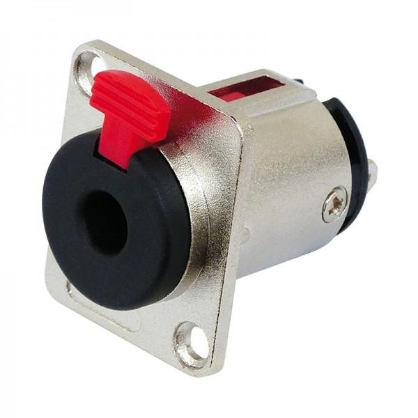 PA-Stereo-Einbaubuchse Klinke 6.3mm BLANKO