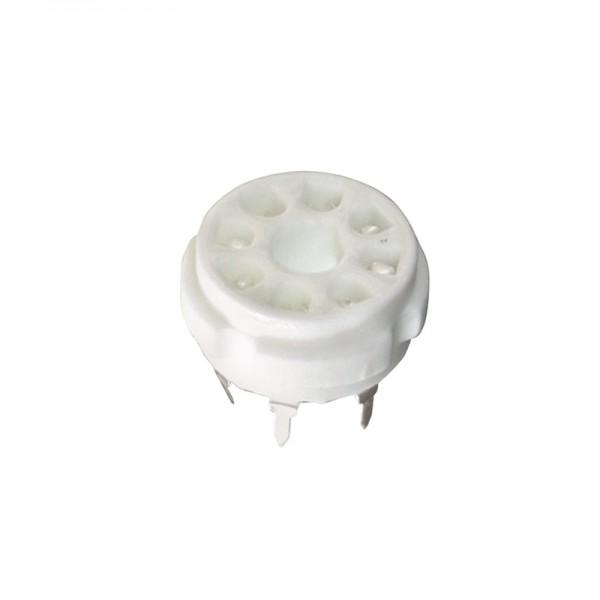 Röhrensockel 8-Pin Printmontage BLANKO