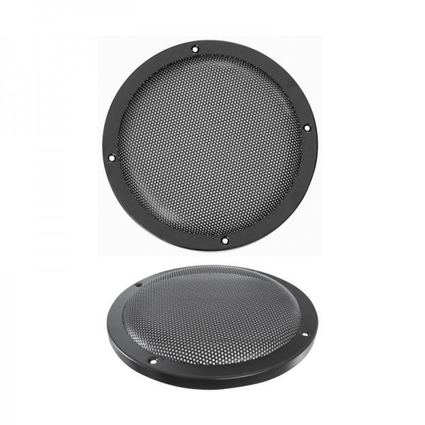 Lautsprecherziergitter HIFI 200mm BLANKO schwarz
