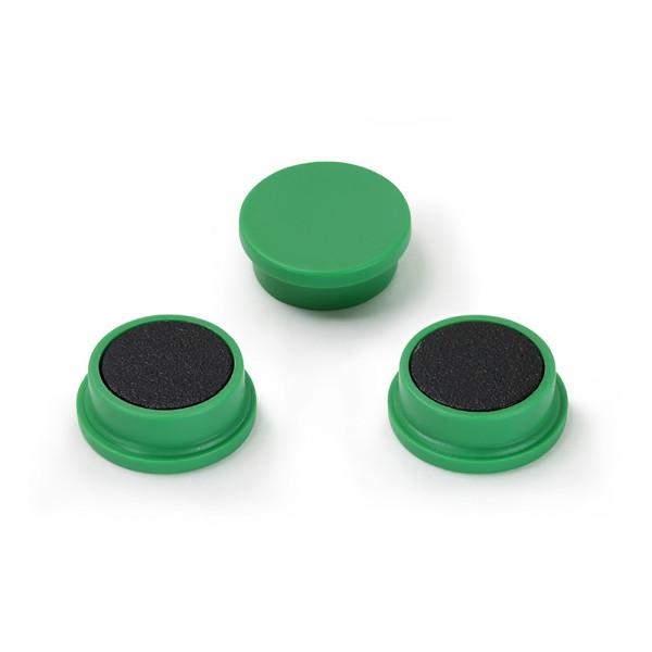 Magnetset 20 mm grün 10 Stück