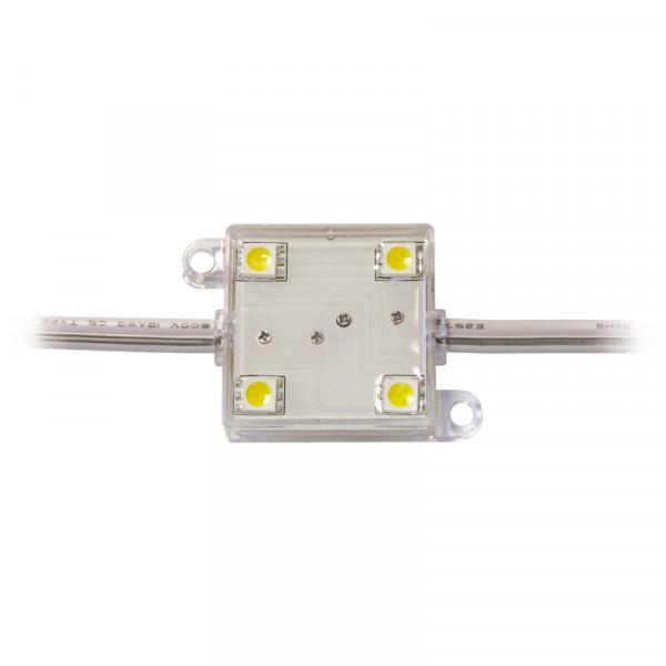 LED Modul 4 x Power SMD LEDs weiss IP65 Restposten!Nur solange Vorrat!
