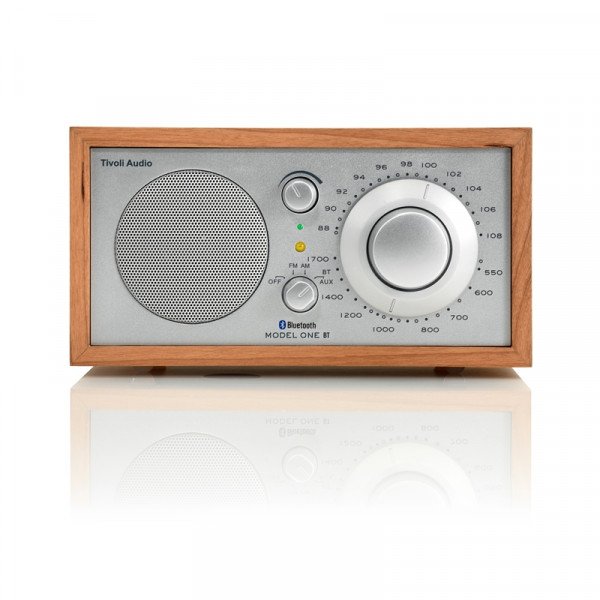 Tivoli Audio Model One BT Silber/Kirsche