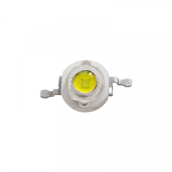 High Power 3W LED weiss 5er-Pack BLANKO