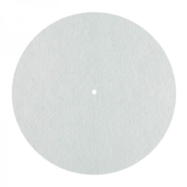 Dynavox Plattentellerauflage PM2 Filz weiss