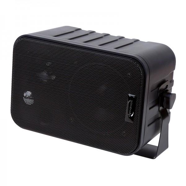 Dynavox Mini-Box 3-Wege mit Halterung schwarz